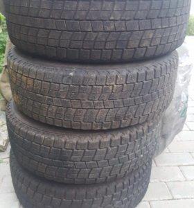 Зимние колёса (резина + диски) 185-65-14