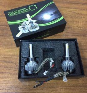 LED Светодиодные лампы H1 H3 H4 H7 H8 H11 HB4 30w