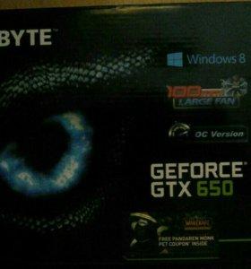 GeForce GTX 650/rev2.0 Gold Plated hdmi. 1080р