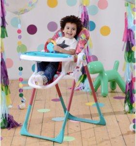 Новый стульчик для кормления Happy Baby.