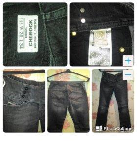 Джинсы Diesel, Pepe jeans