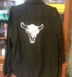 Мужские рубашки 52-54