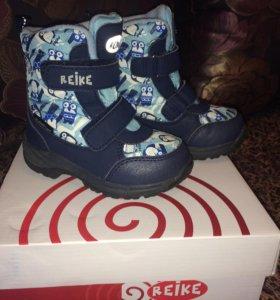 Ботинки детские Reike зима