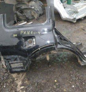 Крыло заднее правое для Mitsubishi Pajero 4