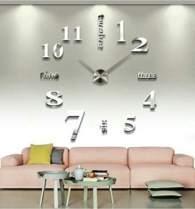 Настенные 3D часы