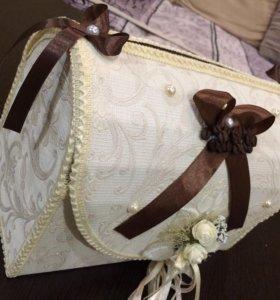 Сундук на свадьбу под деньги