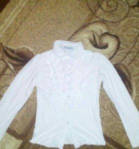 Блузка детская на 8 лет