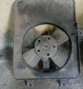 Вентилятор охлаждения ваз 2110 2112