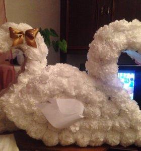 3D Цыфра .Лебеди