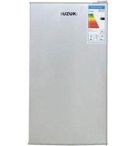 Новый холодильник Suzuki SUSD-100CHS серебристый