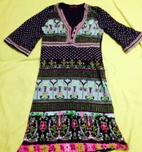 Очень красивое индийское платье! ТОРГ!!! 44-46р