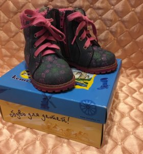 Детские ботинки 20 размер