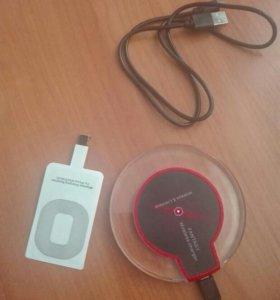 Беспроводная зарядка айфон, андроид