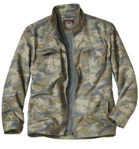 Куртка Камуфляжной Расцветки