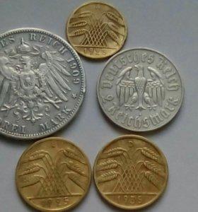 Немецкие монеты