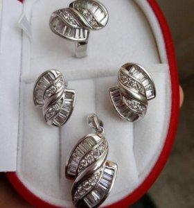 Серебро комплект