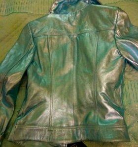 Куртка из натуральной кожи. Новая! Размер М