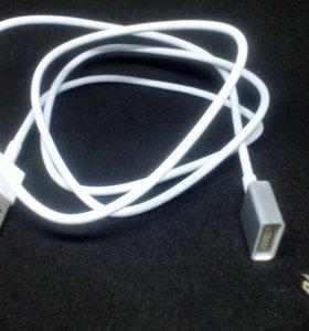 Магнитный кабель-зарядка MicroUSB