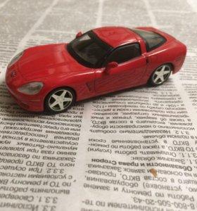 Модель автомобиля Шевроле Корвет