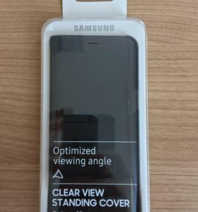 Чехол Samsung S8 Clear View Standing Black
