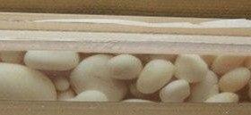 кафельная плитка бордюр камушки 50 см х 5 см