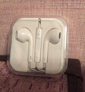 Наушники iPhone новые