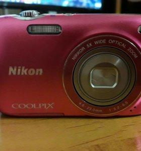 Цифровик Nikon coolpix s3100