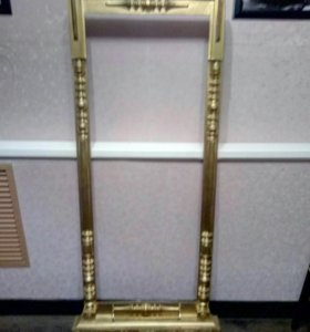 Рама напольная реставрированая под золото