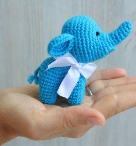 Слоник синий
