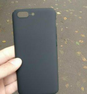Чёрный чехол для OnePlus 5