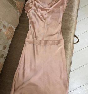 Платье шёлковое Кира Пластинина