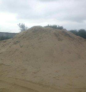 Песок,щебень, земля, отсев, бой кирпича, керамзит.