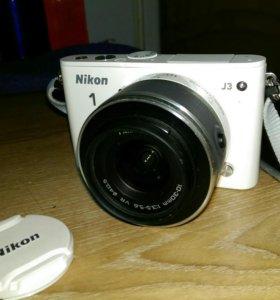 Фотокамера Nikon 1 j3 kit 10-30 mm vr
