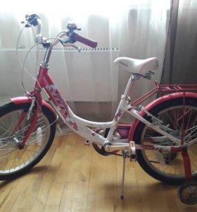 Велосипед Stels 6 скоростей для девочки