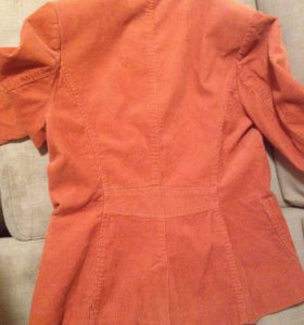 Пиджак женский вельветовый, размер 46-48
