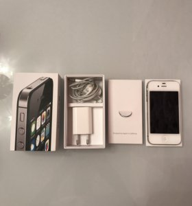 iPhone 4S, White, 8GB