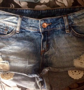 Шорты джинс разм 42 (S)