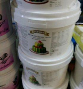 Сахарная мастика в ассортименте под заказ