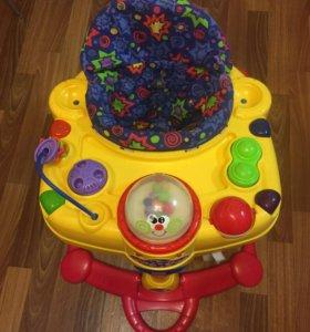Ходунки,прыгунки,стульчик в ванну,игрушки и прочее