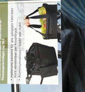 Навая Велокорзина-сумка