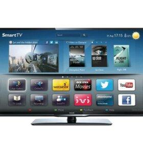 Телевизор Philips 40 дюймов full hd led smart Торг
