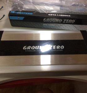 Усилитель (моноблок) Ground Zero GZTA 1.1200GX