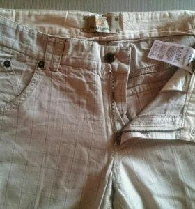 Легкие брюки джинсы 100% хлопок