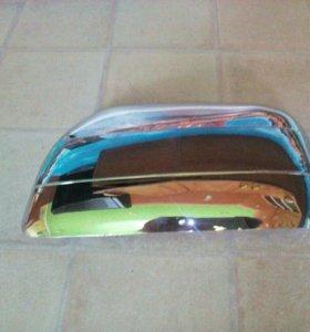 Продам хром накладки на зеркала RAV4