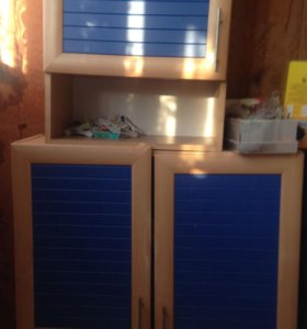 2 кухонных шкафчика