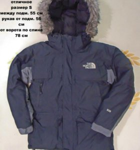 the north face пуховик