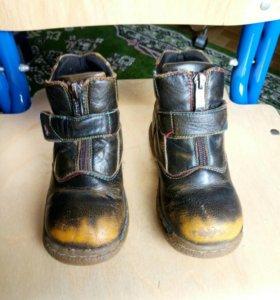 Ботинки детские, нат.кожа