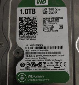 Жёсткий диск hdd 1000gb WD