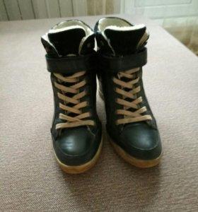 Ботинки  зимние (кожа) Francesco Donni