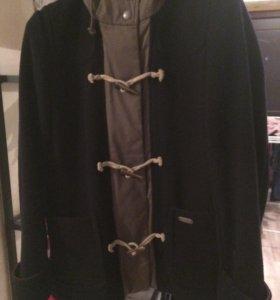 Куртка комбинированная